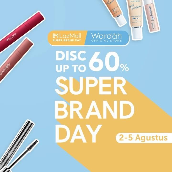 Diskon Promo Wardah Super Brand Day Di Lazada