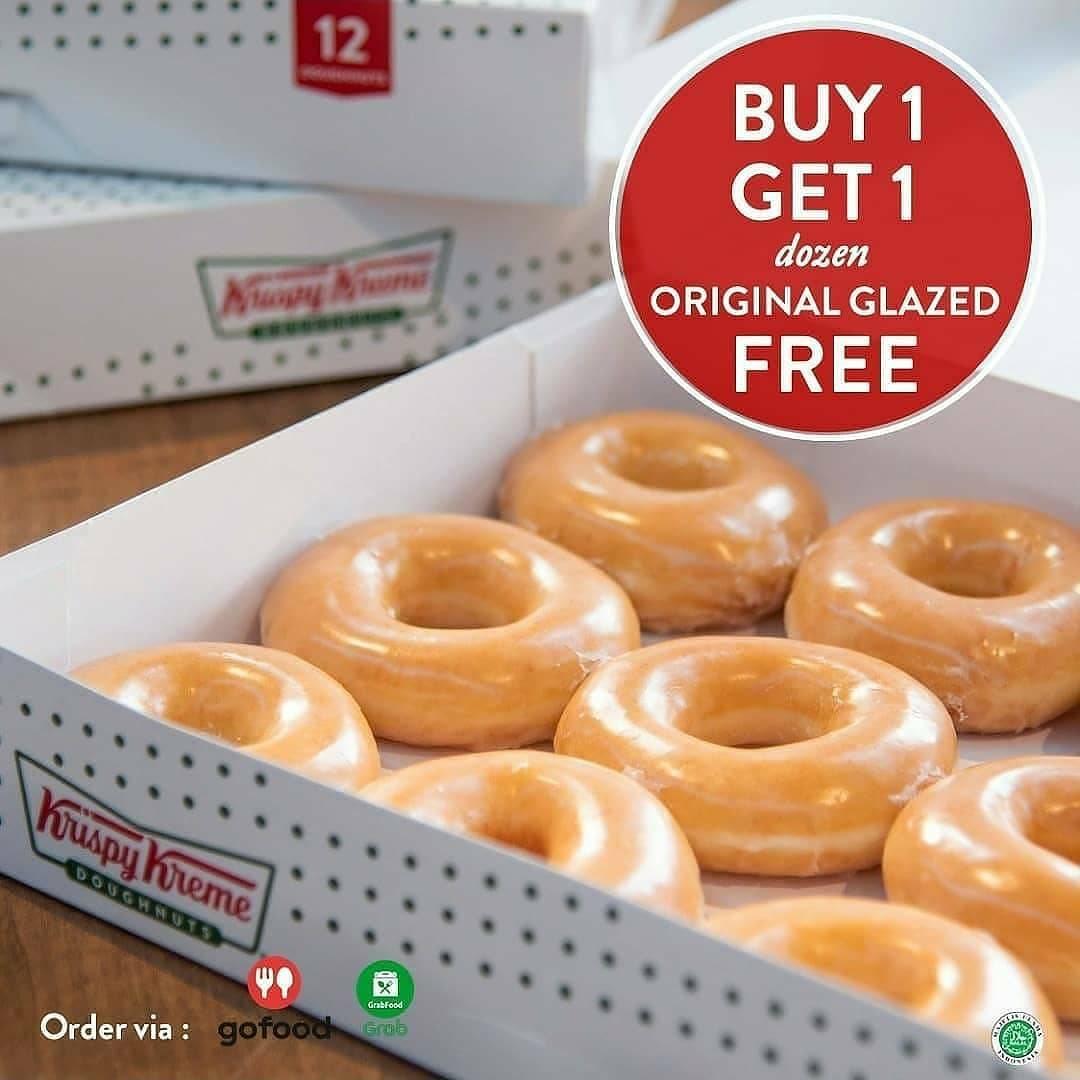 Diskon Krispy Kreme Promo Buy 1 Get 1