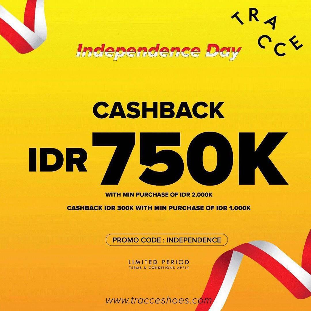 Diskon Traccee Promo Cashback IDR 750K Min Purchase Of IDR 2.000K