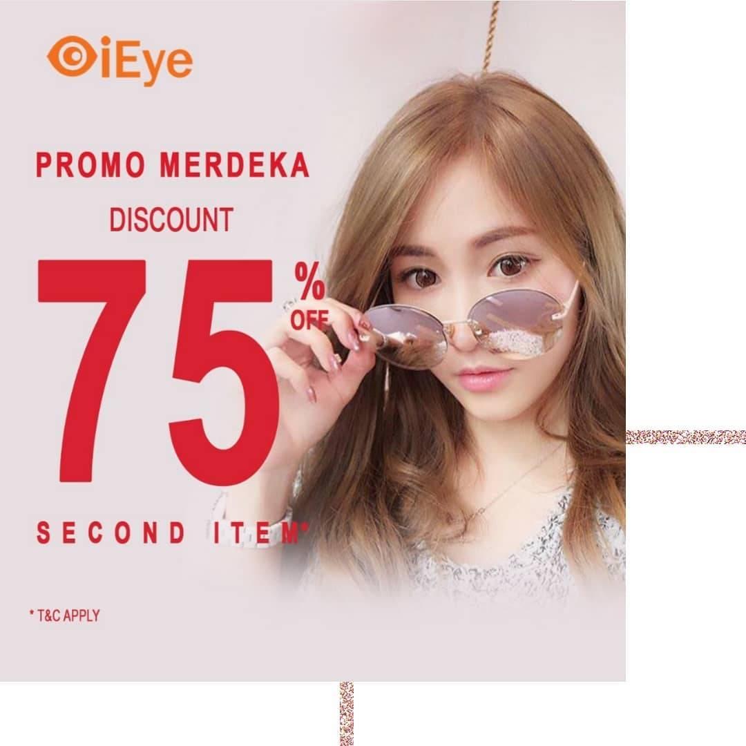 Diskon Promo IEye Discount 75%Off On 2nd Item