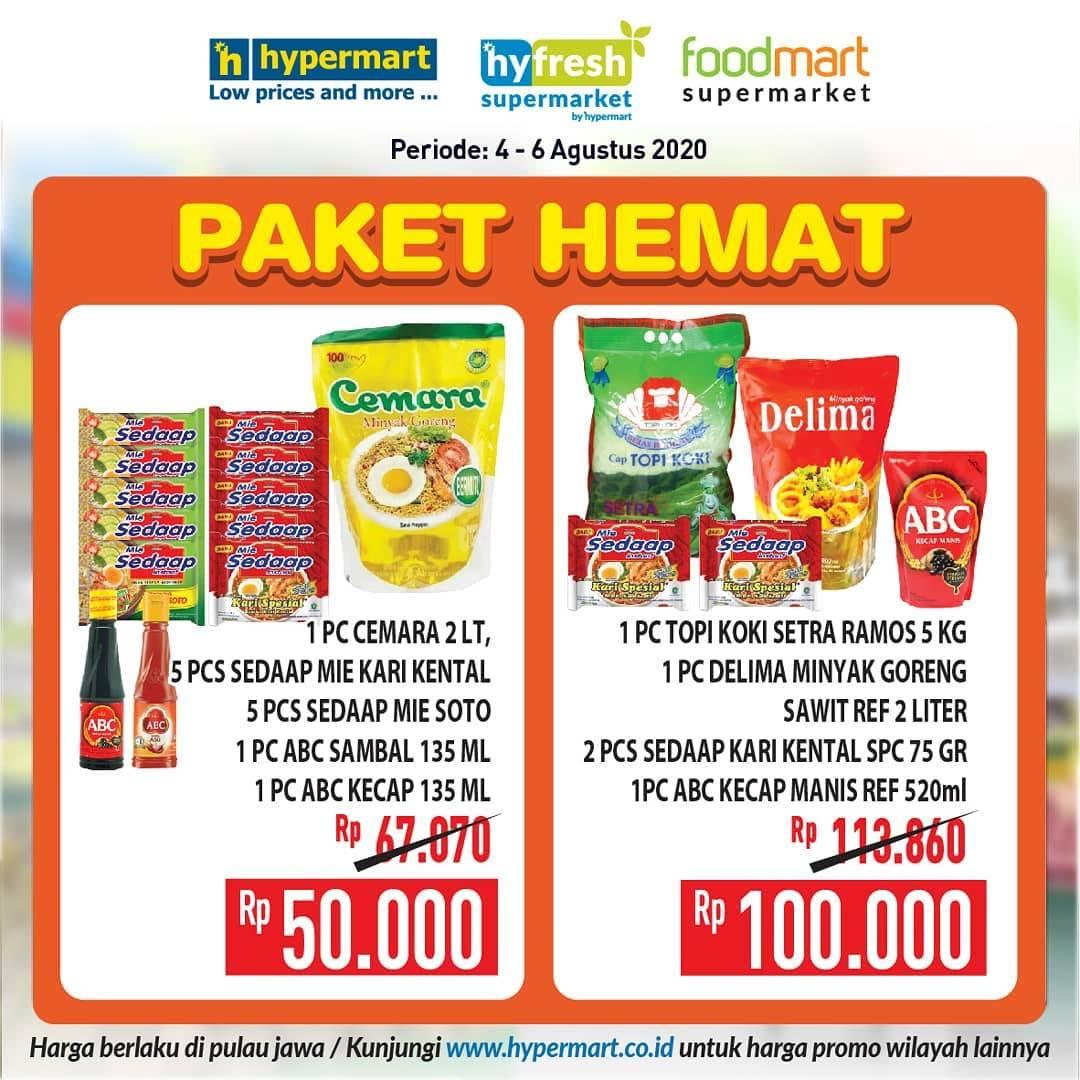 Diskon Katalog Promo Hypermart Paket Hemat Periode 4 - 6 Agustus 2020