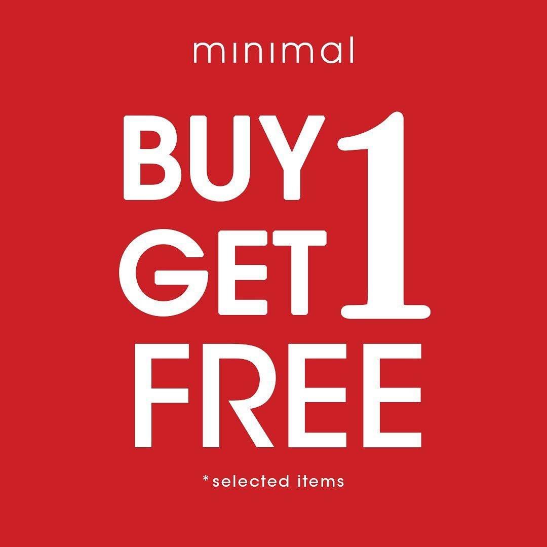 Diskon Promo Minimal Buy 1 Get 1 Free Selected Items