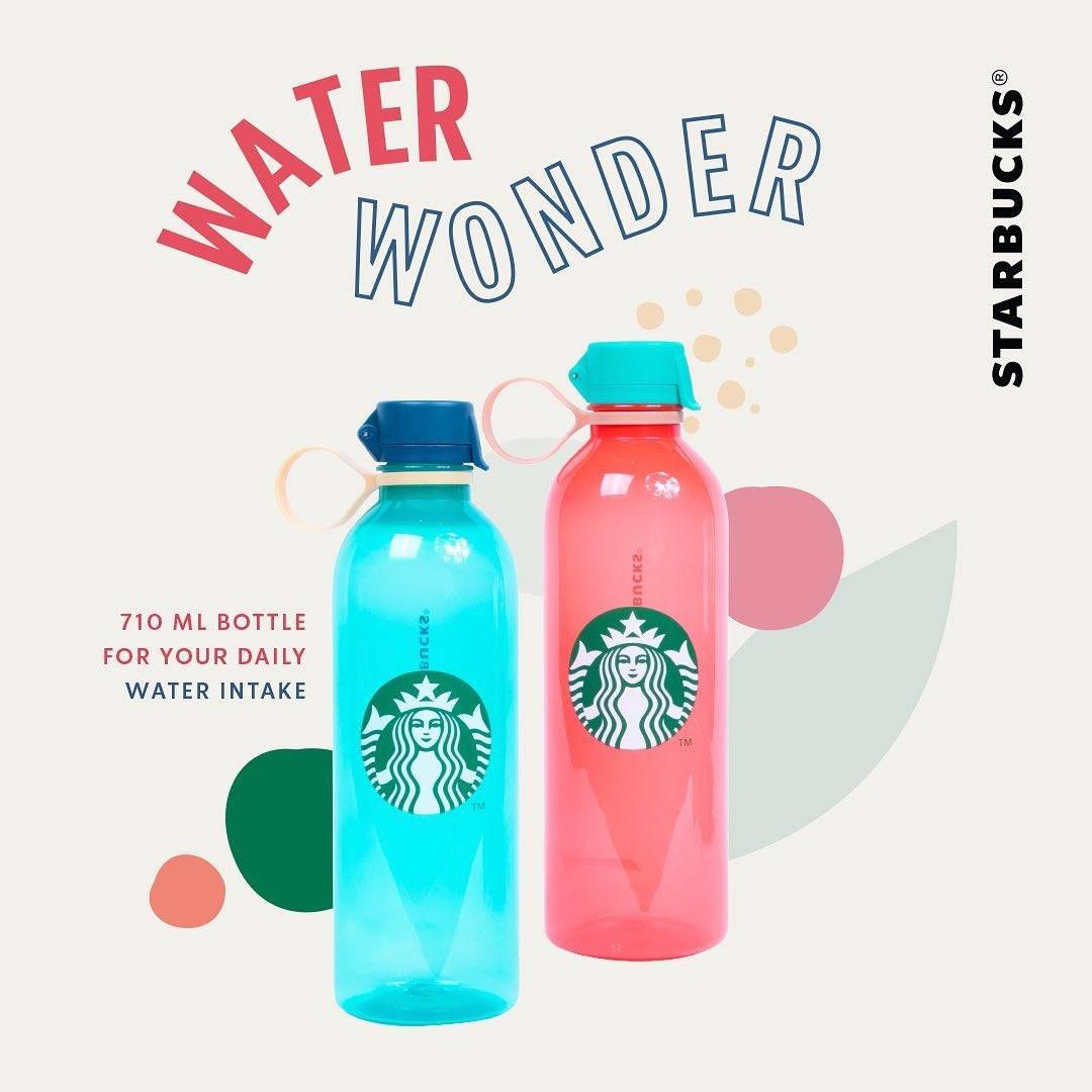 Diskon Promo Starbucks Water Bottle Hanya Rp. 125.000