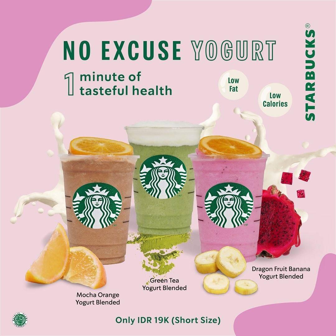 Diskon Promo Starbucks Harga Spesial Varian Yogurt Hanya Rp. 19.000