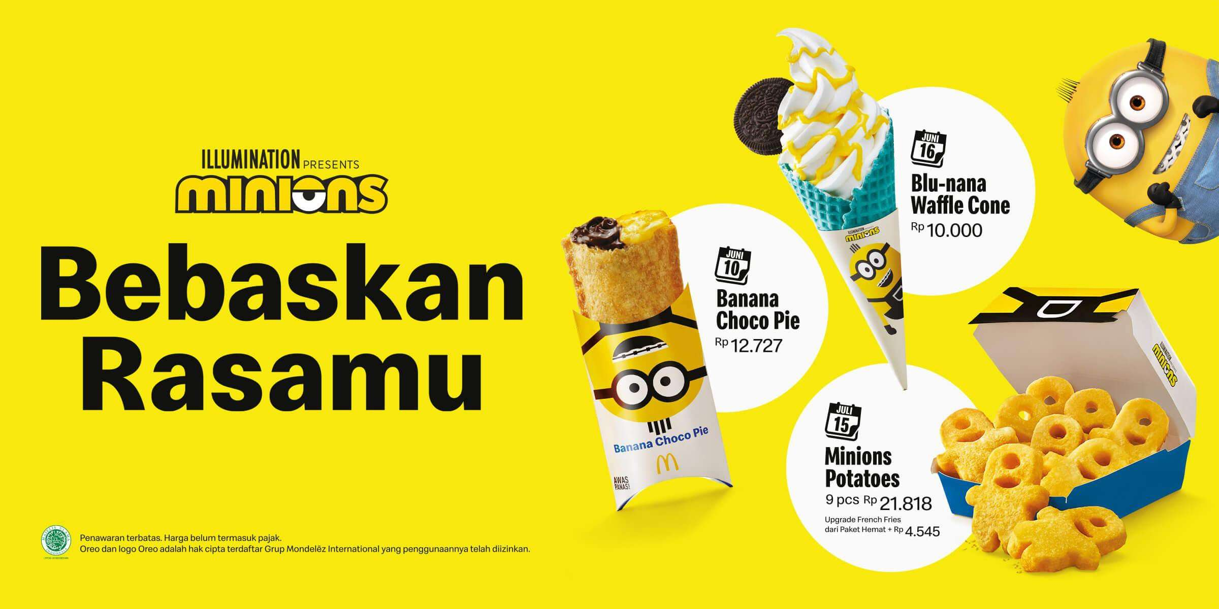 Diskon McDonalds Promo Edisi Spesial Minions