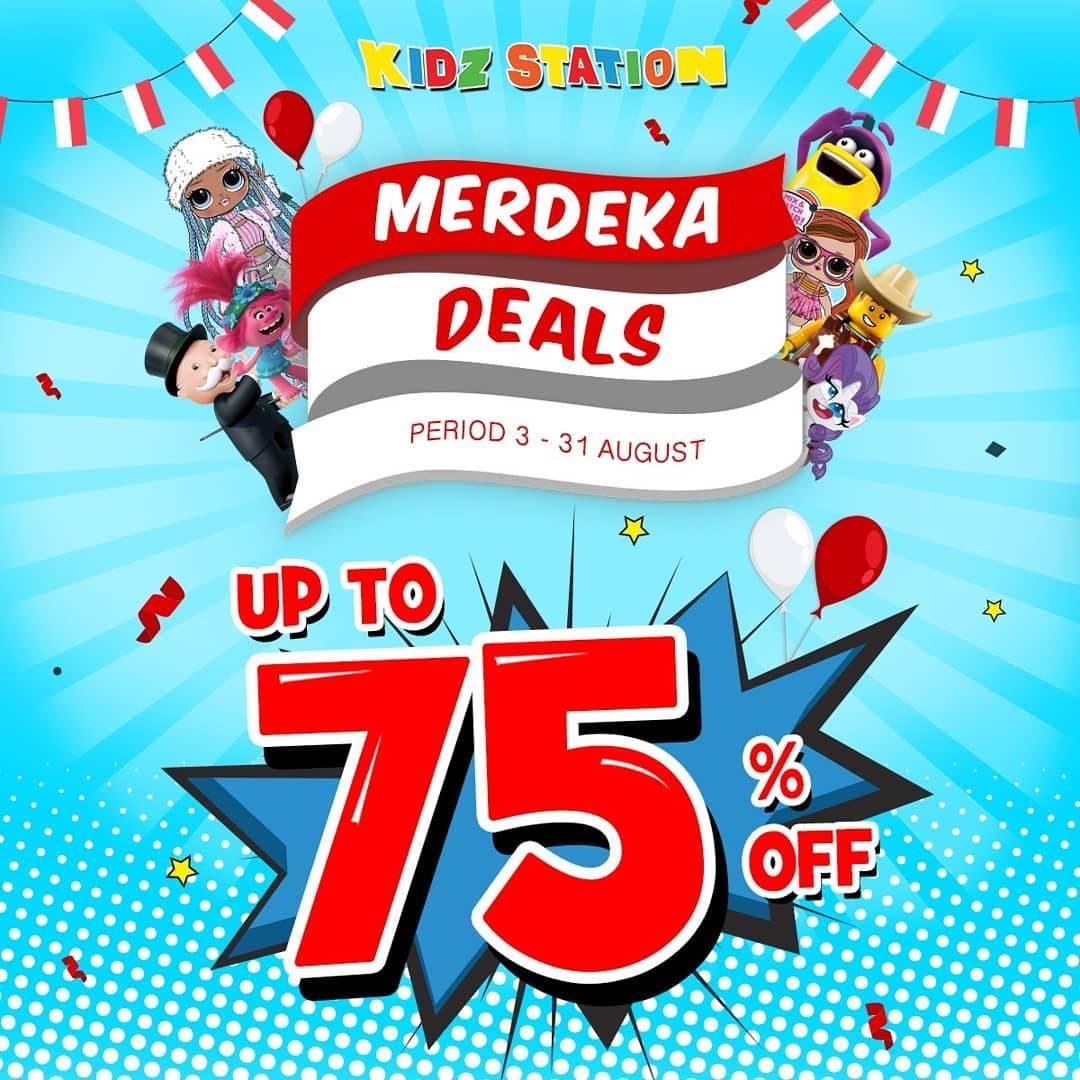 Diskon Kidz Station Promo Merdeka Deals