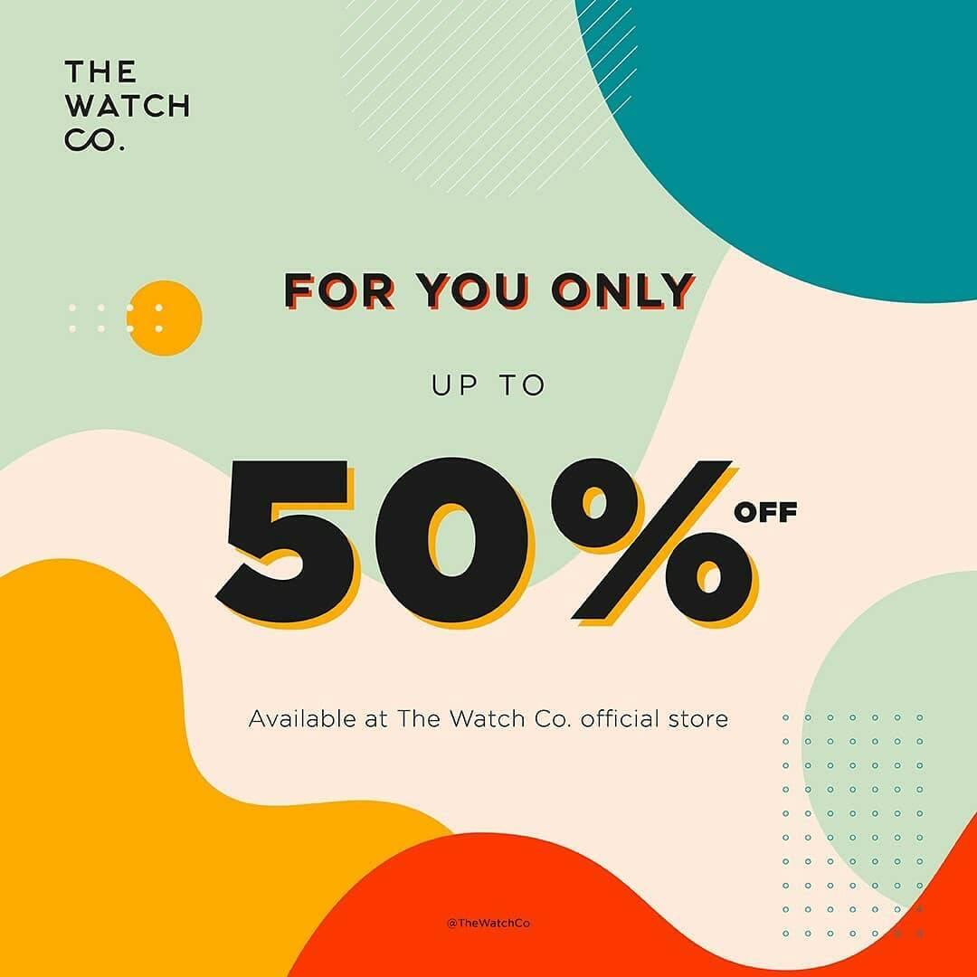 Diskon The Watch Co Promo Shop Big Save Big