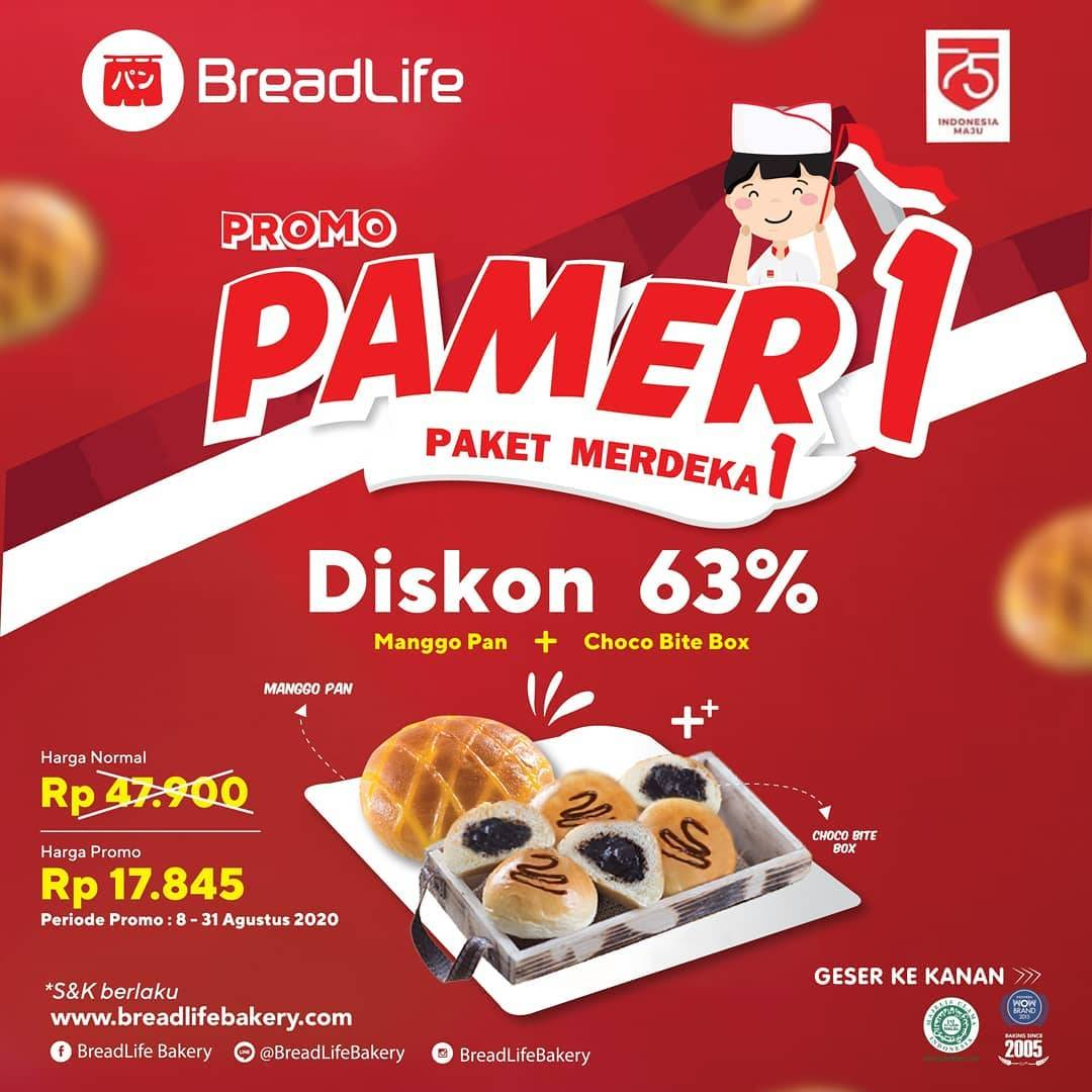 Diskon Breadlife Promo Paket Merdeka Diskon Hingga 66%