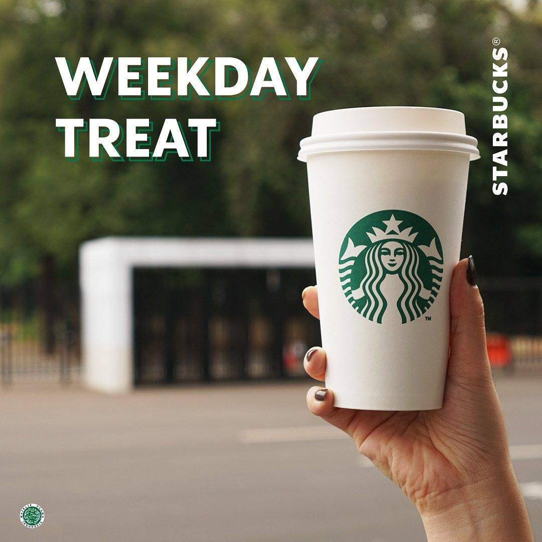 Diskon Promo Starbucks Weekday Treat Potongan 30% Untuk Semua Minuman