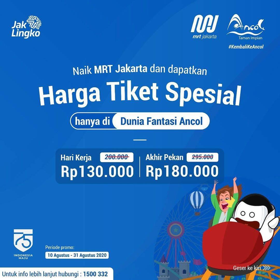 Diskon Promo Dufan Harga Spesial Tiket Masuk Mulai Dari Rp. 130.000 Untuk Pengguna MRT