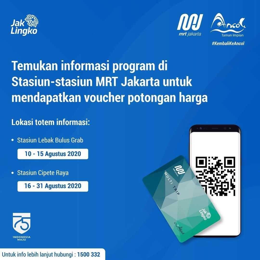 Promo diskon Promo Dufan Harga Spesial Tiket Masuk Mulai Dari Rp. 130.000 Untuk Pengguna MRT