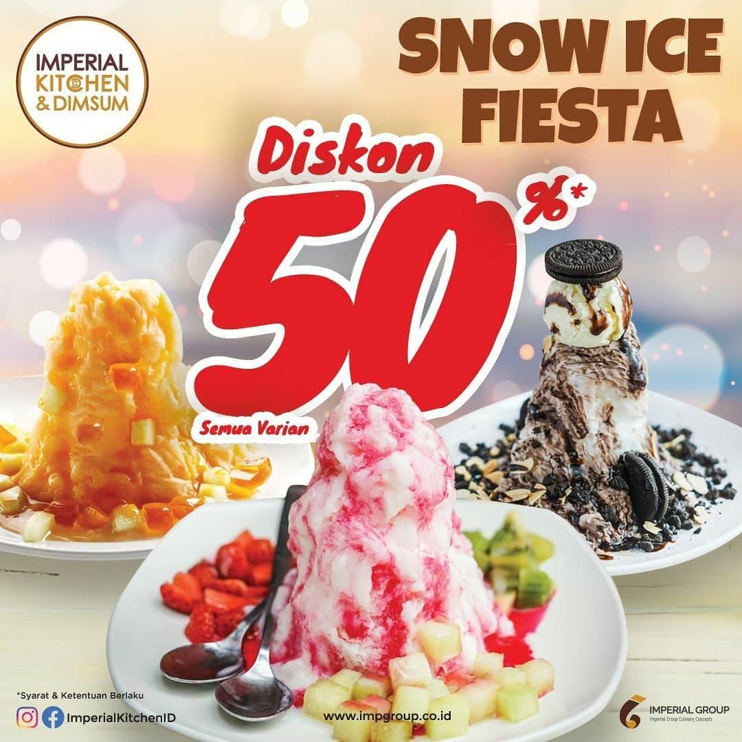 Diskon Promo Imperial Kitchen Diskon 50% Untuk Semua Varian Snow Ice