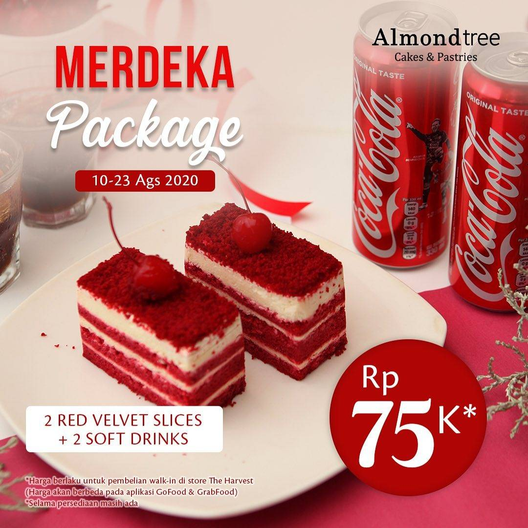 Diskon Promo Almond Tree Special Value Merdeka Package Only For IDR. 75.000
