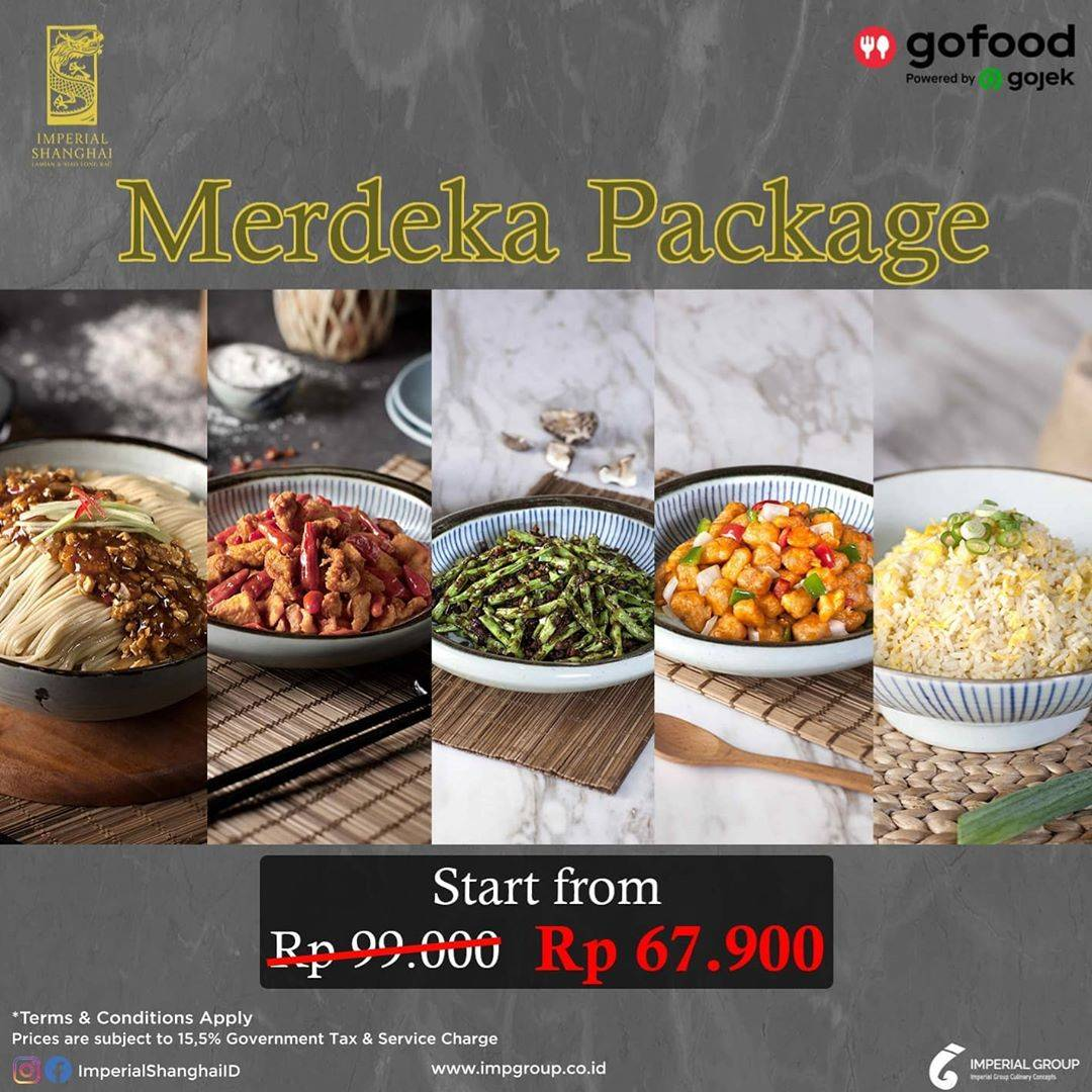 Diskon Promo Imperial Shanghai Merdeka Package Start From IDR. 67.900