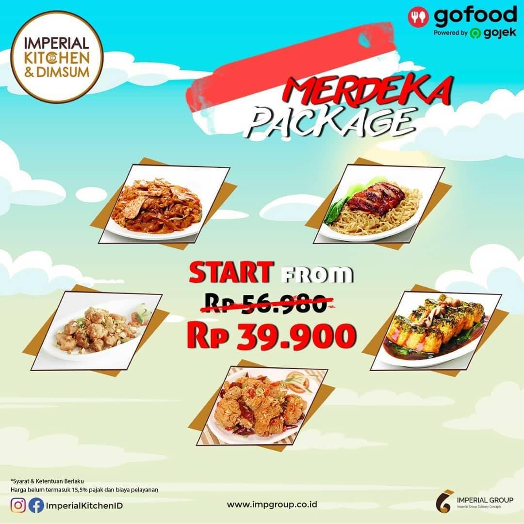 Diskon Promo Imperial Kitchen Merdeka Package Start From IDR. 39.900