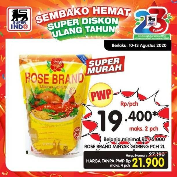 Diskon Katalog Promo Superindo Sembako Hemat Periode 10 - 13 Agustus 2020