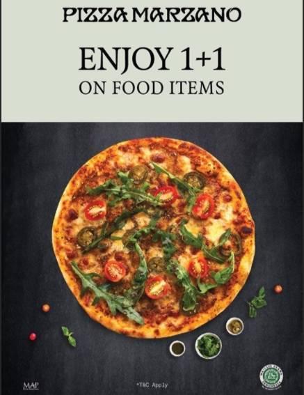 Diskon Pizza Marzano Promo Beli 1 Gratis 1 untuk Menu Makanan