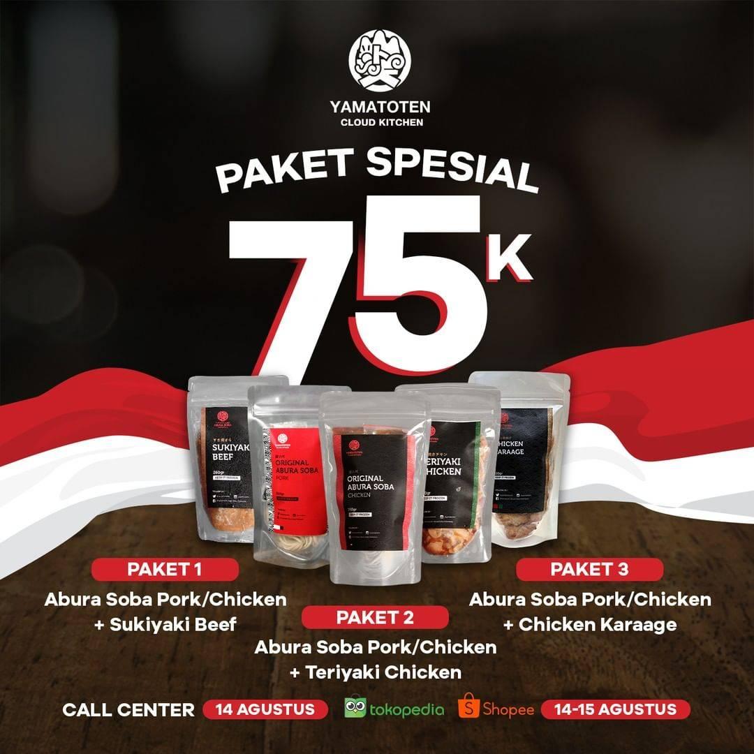 Diskon Abura Soba Promo Paket Spesial Kemerdekaan
