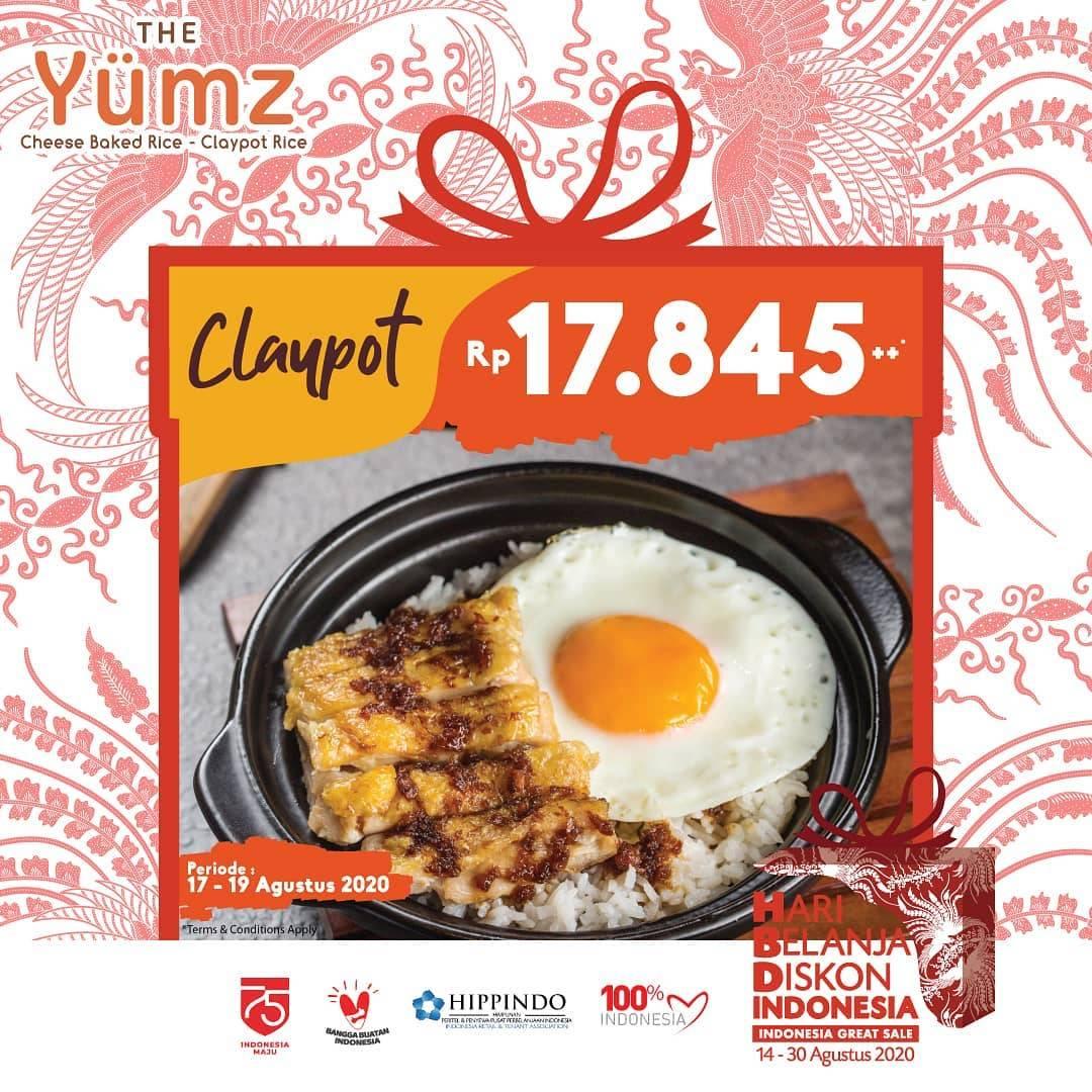 Diskon Promo The Yumz HBDI 2020 - Menu Claypot Dengan Harga Rp. 17.845++
