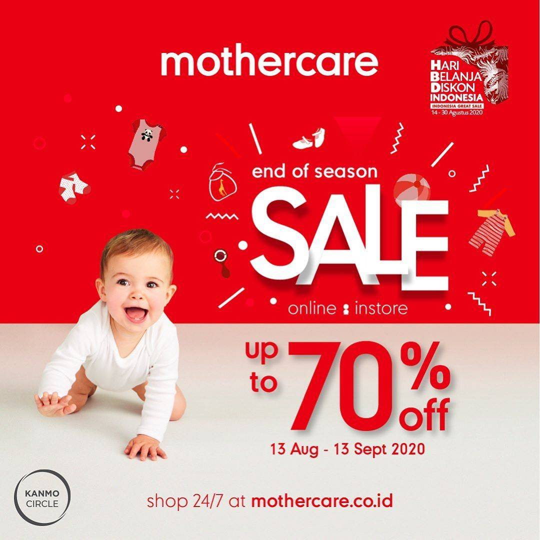 Diskon Promo Mother Care Season Sale Up To 70%