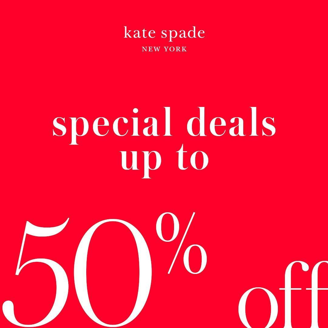 Diskon Promo Kate Spade Special Deals Up To 50% Off