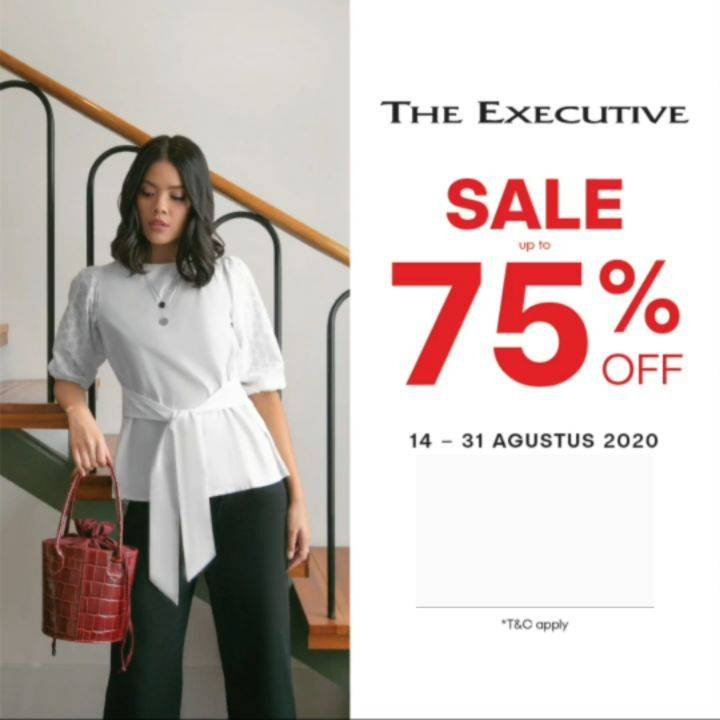 Diskon Promo The Executive Independence Day Special - Discount Up To 75% Off On All Items