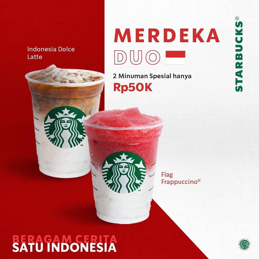 Diskon Promo Starbucks Kemerdekaan - Beragam Cerita Satu Indonesia