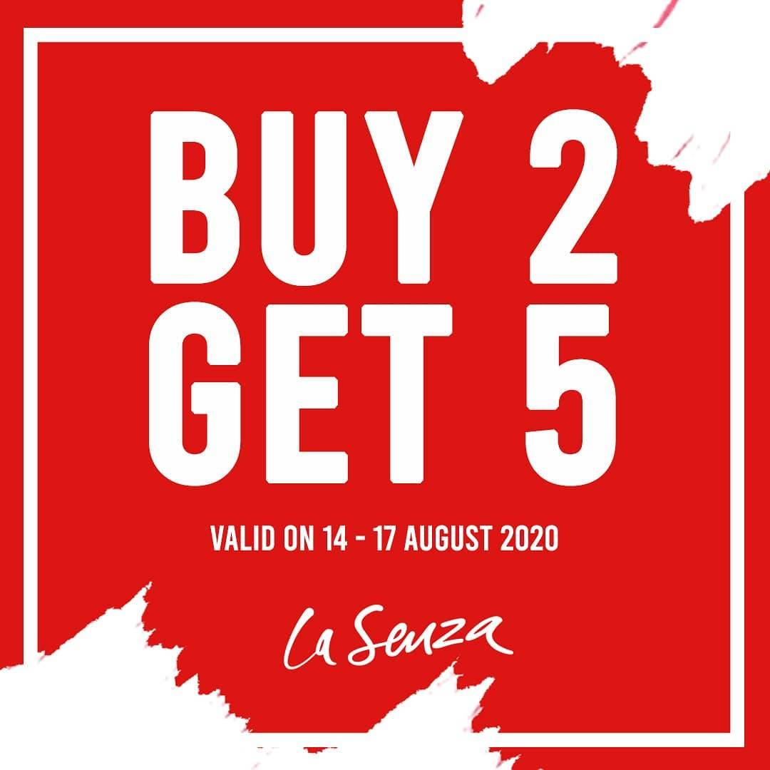 Diskon La Senza Promo Independence Day Buy 2 Get 5