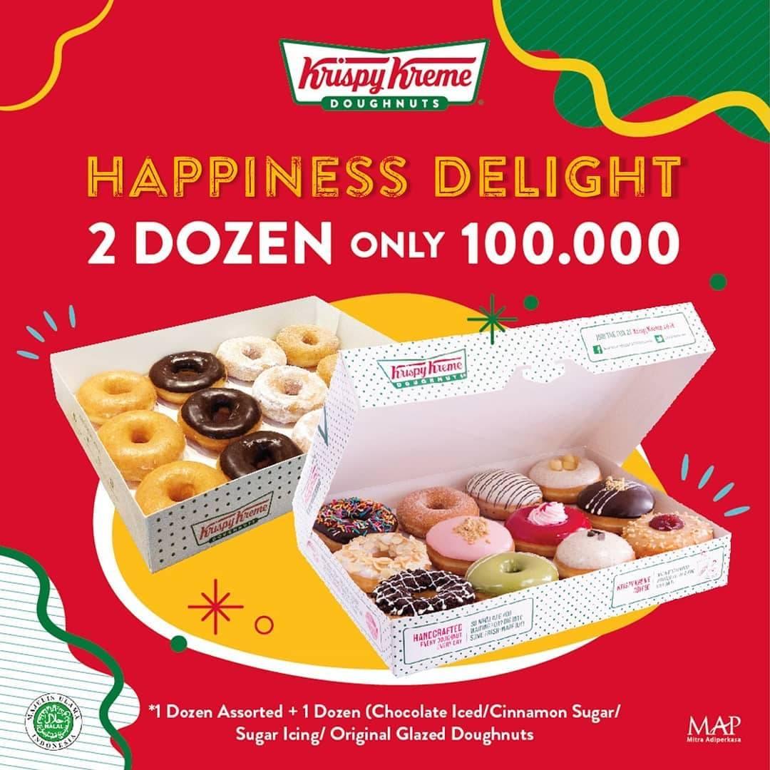 Diskon Promo Krispy Kreme Looong Weekend Delight
