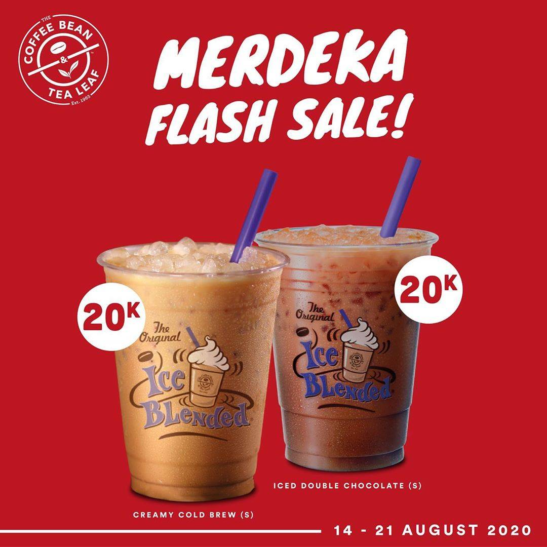 Diskon The Coffee Bean Promo Merdeka Flash Sale