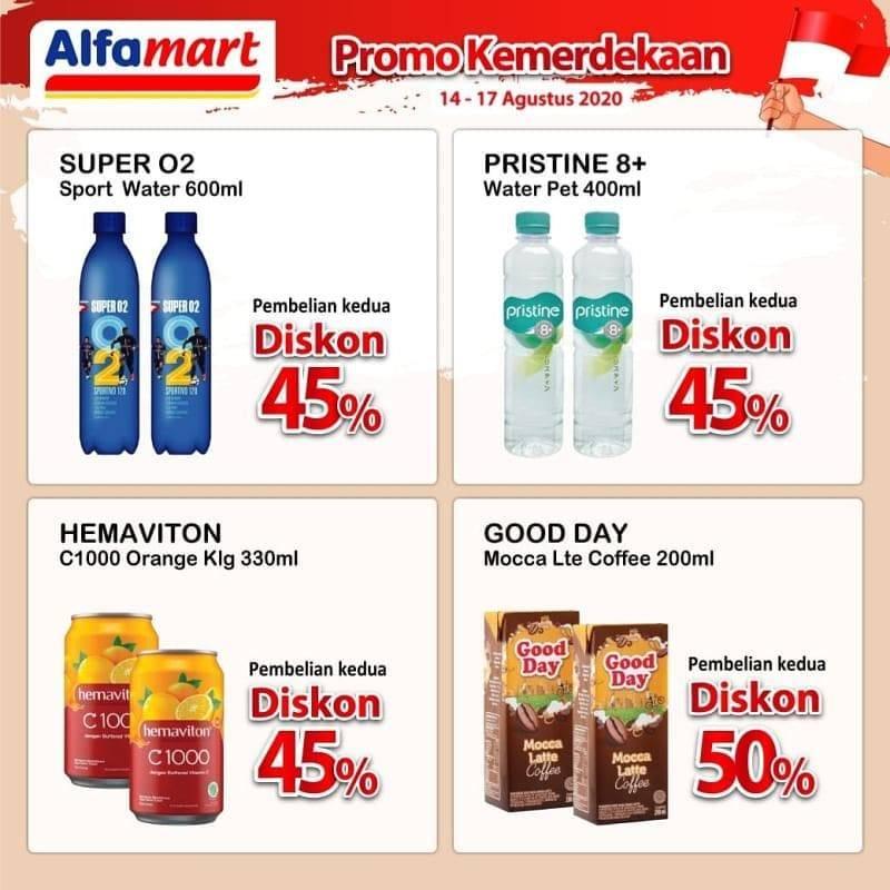 Diskon Katalog Promo Alfamart Promo Kemerdekaan Perode 14 - 17 Agustus 2020