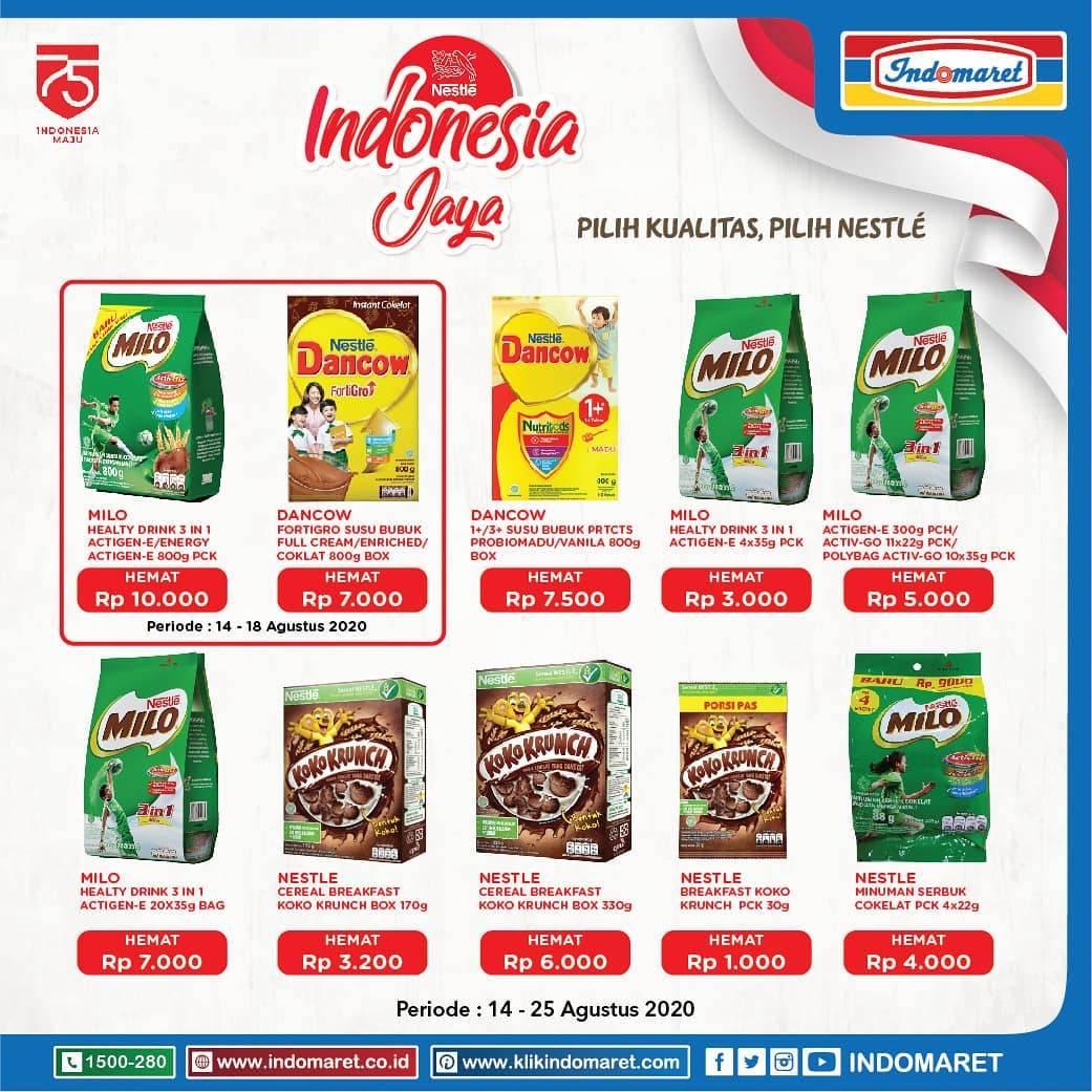 Diskon Katalog Promo Indomaret Produk Nestle Periode 14 - 25 Agustus 2020