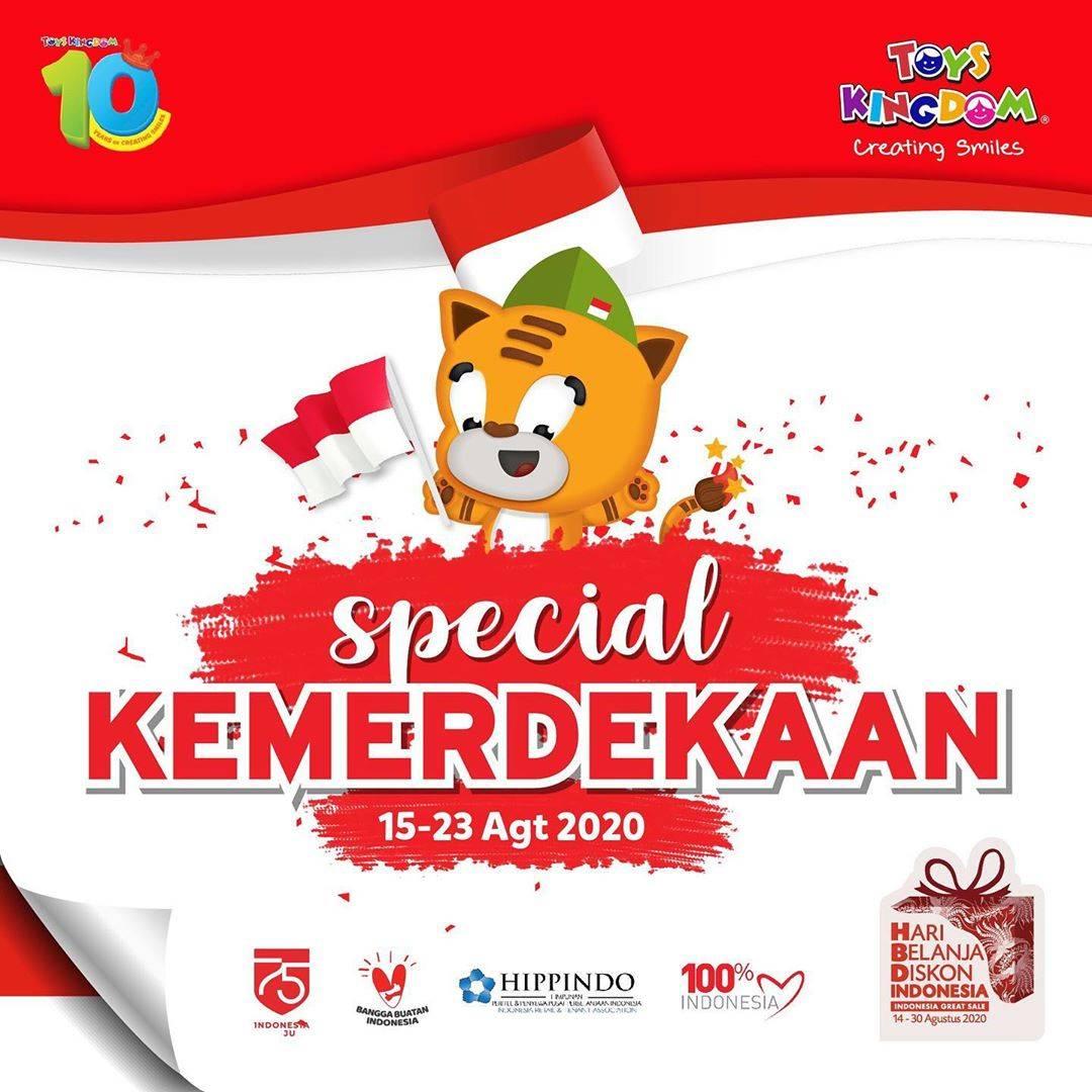 Diskon Promo Toys Kingdom Spesial Kemerdekaan