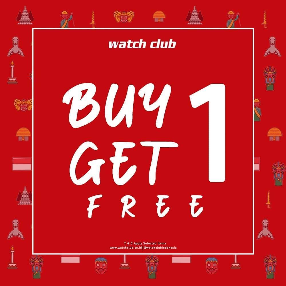 Diskon Promo Watch Club Buy 1 Get 1 Free