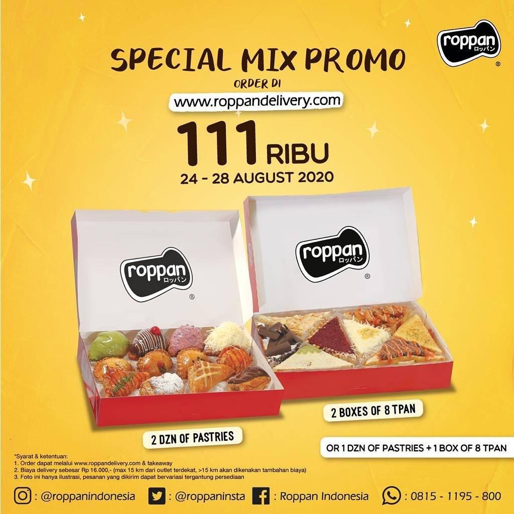 Diskon Roppan Special Mix Hanya Rp. 111.000