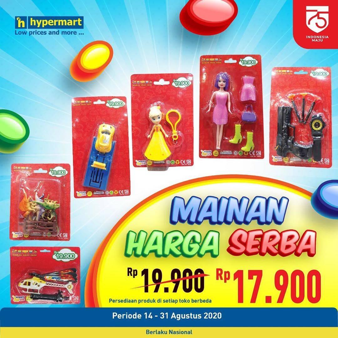 Diskon Hypermart Mainan Harga Serba Rp. 17.900