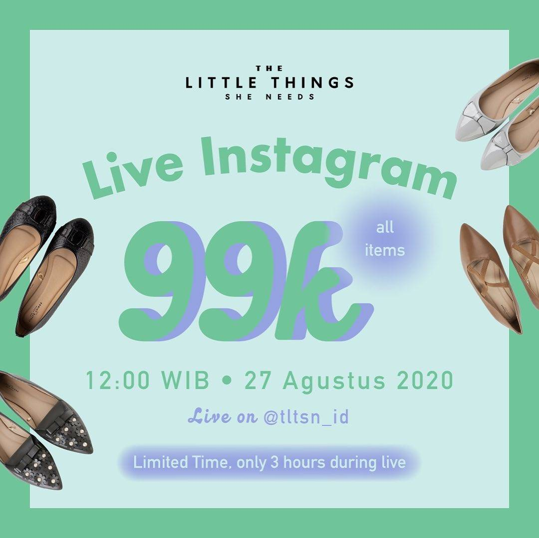 Diskon The Little Things She Need Special Price Only For Rp. 99.000 On All Items