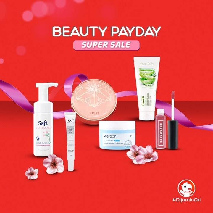 Diskon JD.ID Beauty Payday Super Sale Up To 75% Off