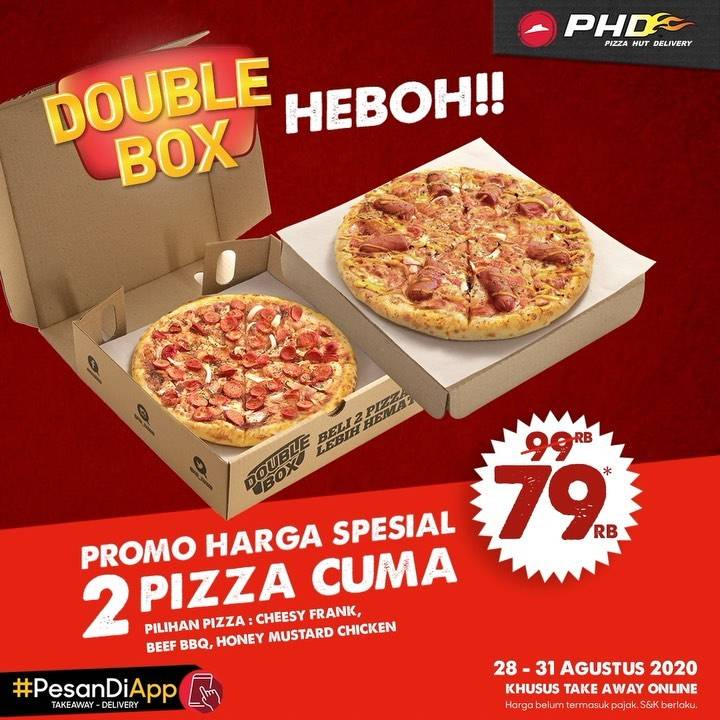 Diskon PHD Promo Double Box Heboh 79Ribu