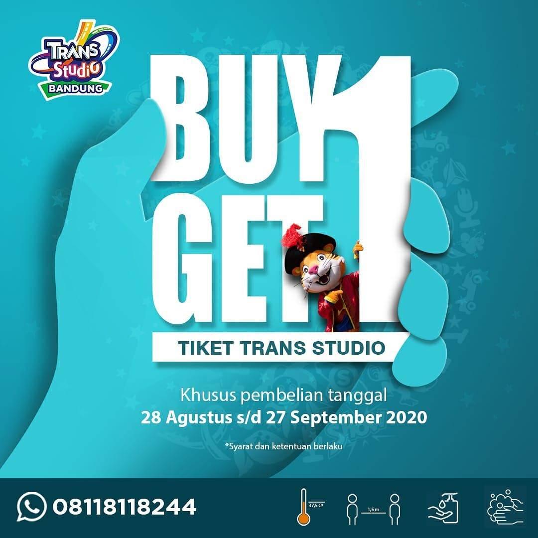 Diskon Trans Studio Bandung Promo Buy 1 Get 1 Tiket