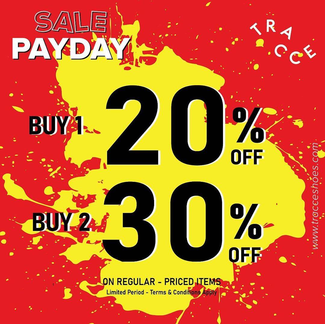 Diskon Tracce Payday Time Discount Up To 30% Off