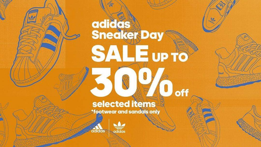 Diskon Adidas Sneaker Day - Sale Up To 30% Off On Selected Items
