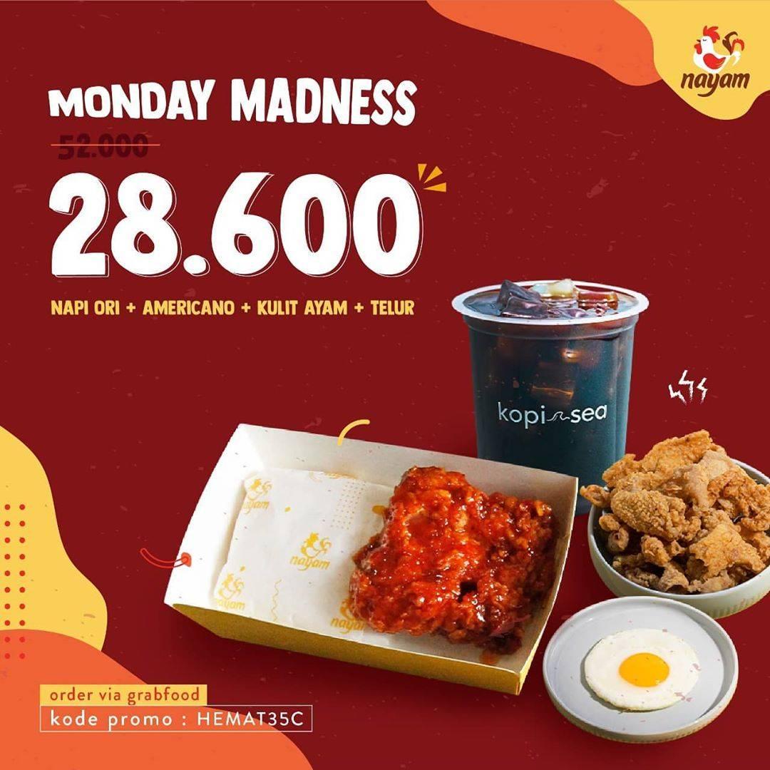 Diskon Nayam Promo Monday Mandness