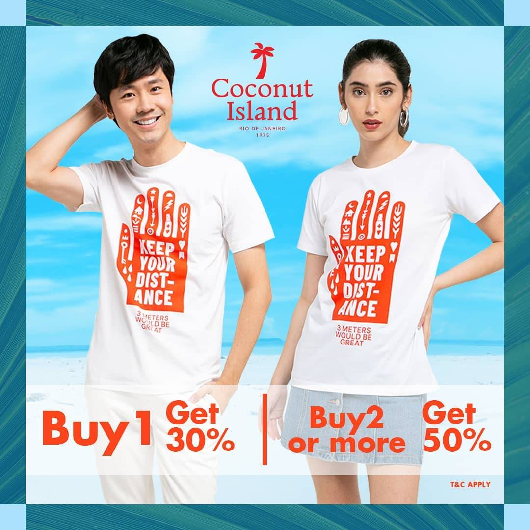 Diskon Coconut Island Promo Buy More Save More