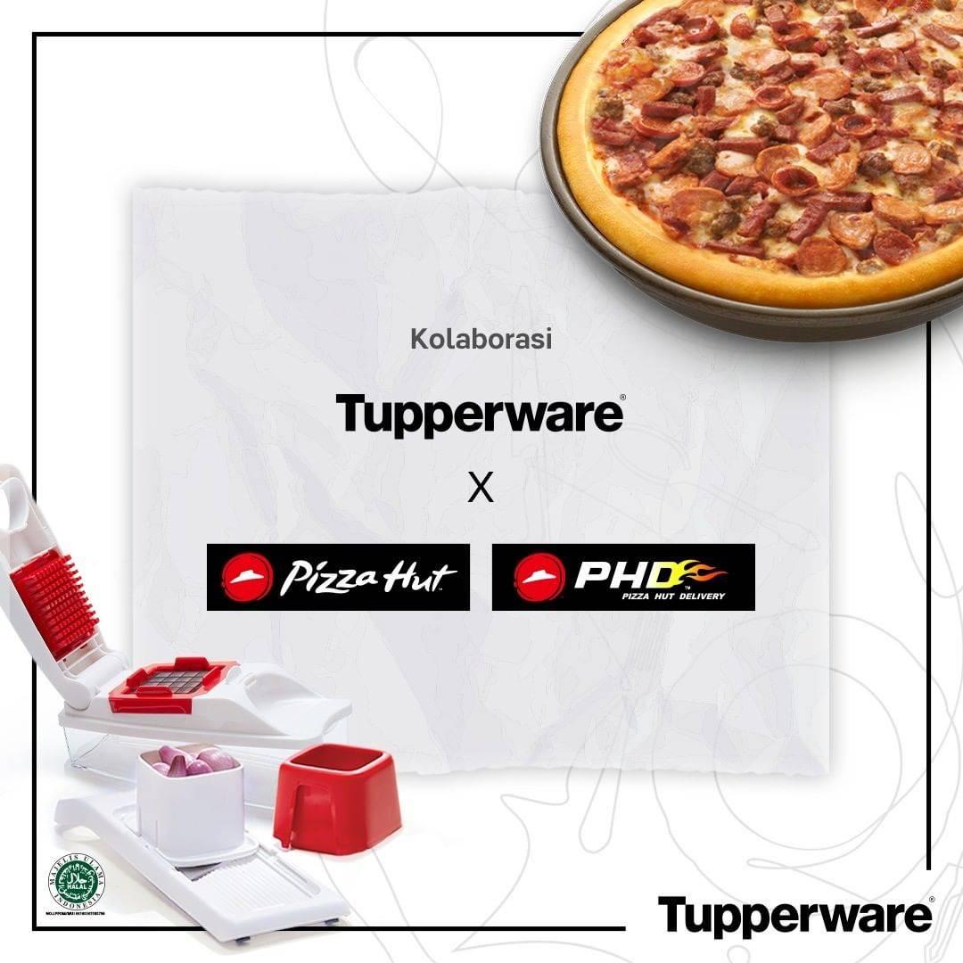 Diskon Tupperware x PHD x Pizza Hut Voucher Diskon 15%