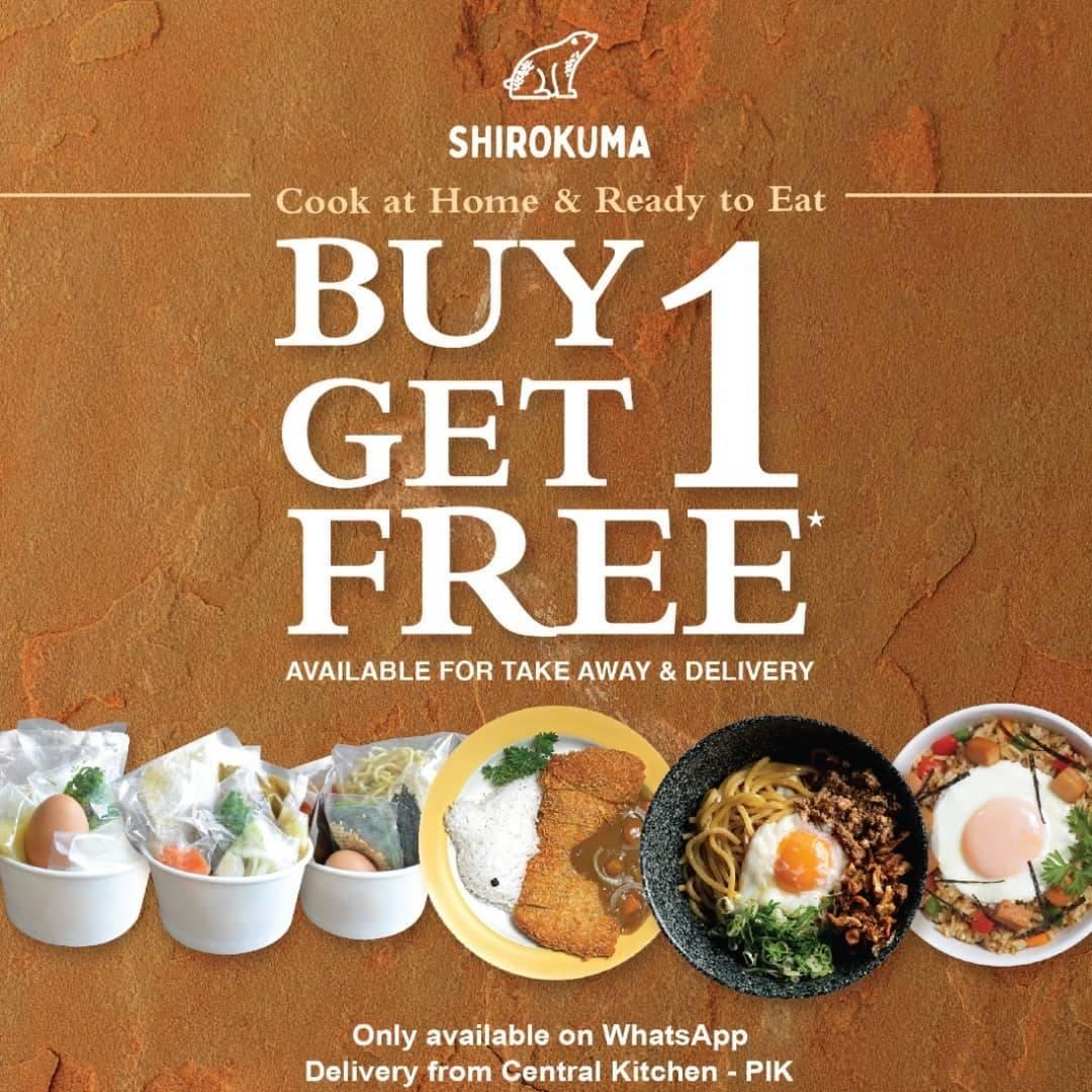 Diskon Shirokuma Buy 1 Get 1 Free For Re-Pack Cook At Home