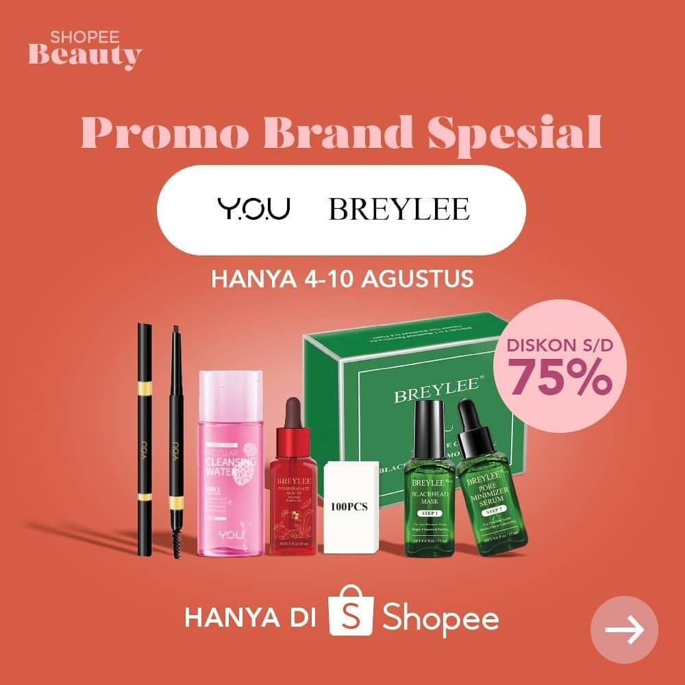 Diskon Shopee Promo Spesial Brand Kecantikan