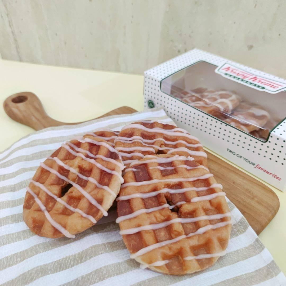 Diskon Krispy Kreme Promo 3Pcs Doughnut Waffle Hanya Rp. 36.000