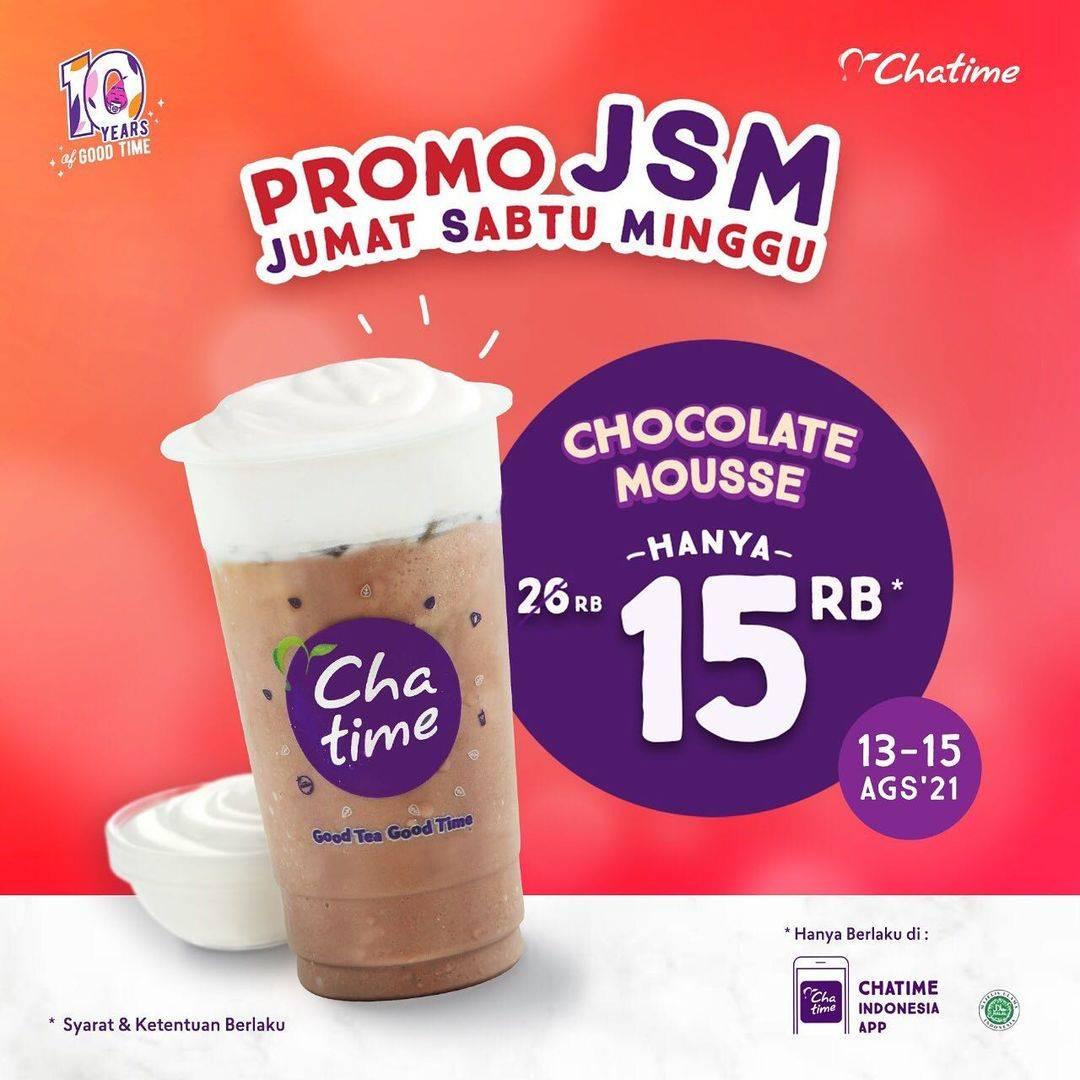 Diskon Chatime Promo JSM Chocolate Mousse Hanya Rp. 15.000
