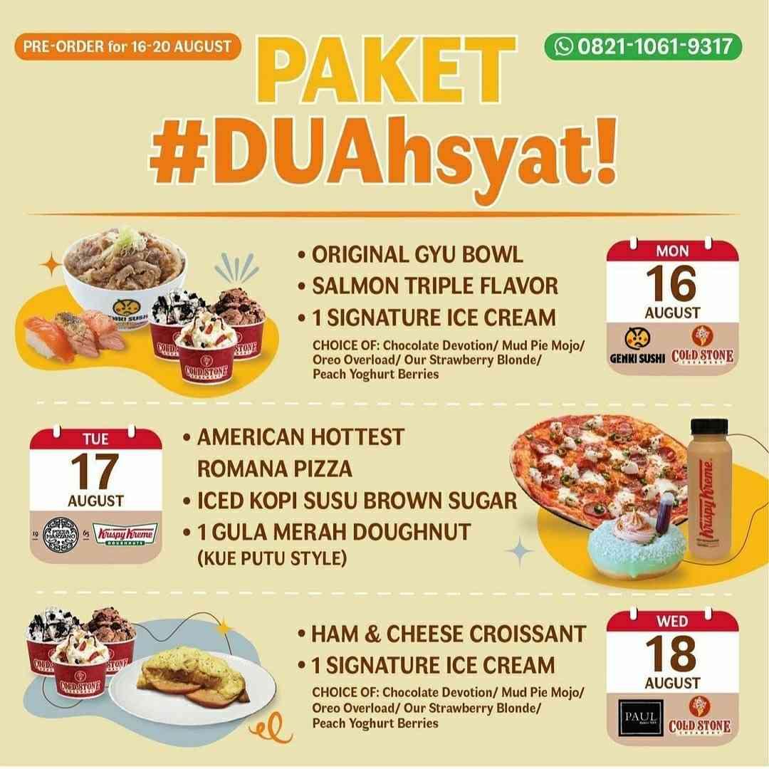 Diskon Krispy Kreme Promo Collaboration Paket Duahsyat